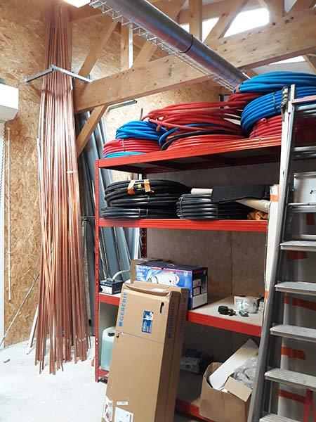 Réalisations de chauffage pompe à chaleur